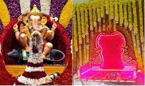 Home Ganpati Decoration Ganesh Chaturthi Decoration Ideas Innovative U0026 Eco Friendly
