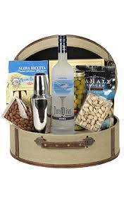 martini gift basket the three o martini gift basket