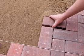 How To Install A Paver Patio How To Install A Laid Paver Patio Buildipedia