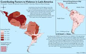 South Central America Map by Crime And Violence In Latin America Wikipedia