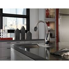 Kitchen Sink Faucets Reviews by Kitchen Delta Fuse Faucet Reviews Faucets Lowes Black Kitchen