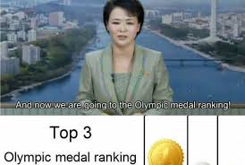 North Korean Memes - the olympics according to north korea weknowmemes