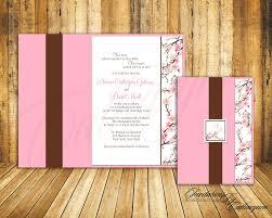 cherry blossom wedding invitations cherry blossom wedding invitations by catharynne on etsy 2 50
