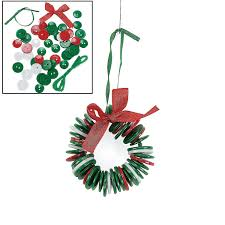 amazon com button wreath ornament craft kit crafts for kids
