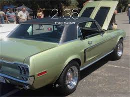 Muscle Cars For Sale In Los Angeles California 1968 Ford Mustang Gt For Sale Classiccars Com Cc 520385