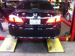 honda accord performance magnaflow dual exhaust system on my 2014 honda accord yelp