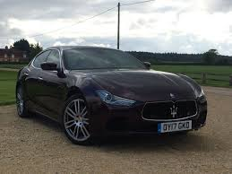 maserati ghibli used maserati ghibli petrol for sale motors co uk