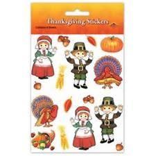 6 thanksgiving rubber ducks turkey pilgrim indian favors