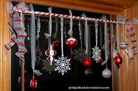 decorating ideas for window treatments intuitive kitchen with christmas window decorating ideas treatments pink polka dot creations decoration