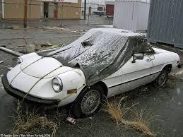 fiat spider 1981 rust in peace alfa romeo spider ran when parked