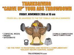 tru strength performance thanksgiving throwdown