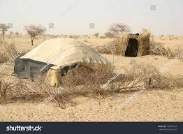 sahara desert mali africa nomad yurt stock photo 106405148