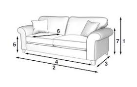 Angelic  Seater Sofa DFS - Sofa bed dimensions