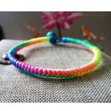 knot cord bracelet images Lucky red rope bracelet chinese knot handmade bangle 0 5cm thick jpg