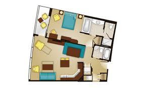 Treehouse Villas Floor Plan Bay Lake Tower At Disney U0027s Contemporary Resort Dvc Rental Store