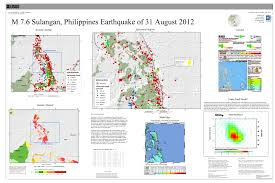 Usgs Real Time Earthquake Map M 7 6 Philippine Islands Region