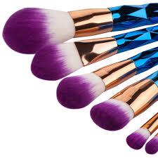 7pcs unicorn makeup brush set u2013 foxy seller