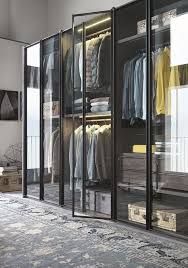 Wardrobe Closet Doors The New Transparency 7 Glass Fronted Closets And Wardrobes