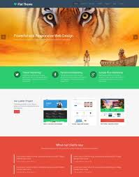 templates for website design 50 best flat design website templates free premium freshdesignweb