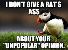 Rats Ass Meme - i don t give a rat s ass on memegen