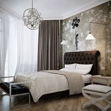 bedroom design ideas with cool lighting also hanging wall lights