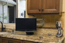 tv in kitchen ideas kitchen tv roaminpizzeria com