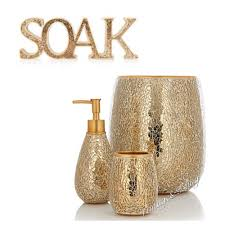 Bathrooms Accessories Uk by Gold Crackle Bathroom Accessories Classic With Gold Crackle