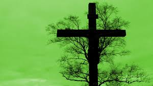 the cross does not look like a tree of at all it is neither