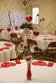 table decor ideas for functions charming valentine day table decorations best church functions and