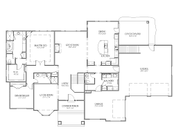 rambler floor plans with basement mn rambler floor plans for you