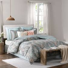 Green And Gray Comforter Buy Grey Blue Comforter From Bed Bath U0026 Beyond