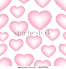 wedding backdrop design vector seamless pattern pink hearts on white stock vector 1012063900