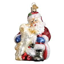 santa ornaments world callisters