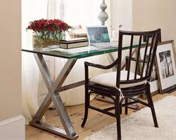 Pottery Barn Ava Desk by Pottery Barn Desk And West Elm Swivel Chair For Sale From New York