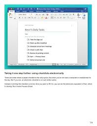 download checklist template download your free microsoft word