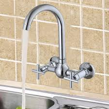 unique kitchen faucet kitchen faucet of two cross handles and wall mounted