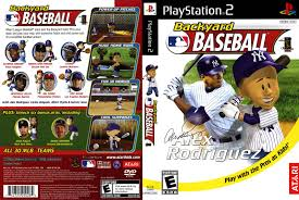 backyard baseball usa iso u003c ps2 isos emuparadise
