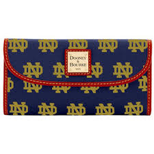 alumni wallet notre dame wallets of notre dame checkbook covers
