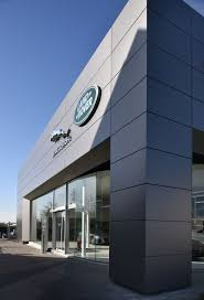 land rover headquarters fcm architects rénove la concession jaguar land rover à asse