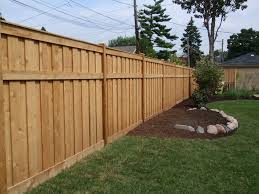 backyard fence line landscaping outdoor furniture design and ideas