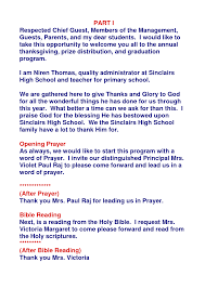 thanksgiving prayer for my birthday emcee script template youtuf com