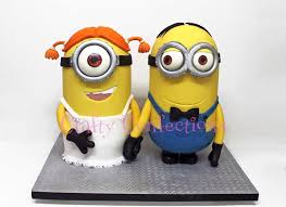 minions cake toppers minion wedding cake topper wedding things 1st day
