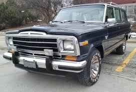 amc jeep truck 1986 amc jeep grand wagoneer 1 owner all original rust free