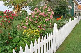 Ideas Garden Beautiful Garden Fence Ideas