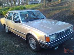 toyota cressida toyota cressida gl 2 0 5 speed manual 4 door saloon rwd