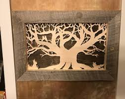 tree wall hanging etsy