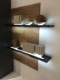 stylish shelving units help improve your home decor floating shelves with led light