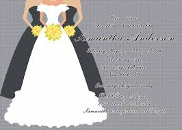 bridal cards printable grey bridal shower invitation cards ewbs019 as low as