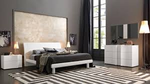 modern platform bedroom in rich white ash color and crystals 5 199 00