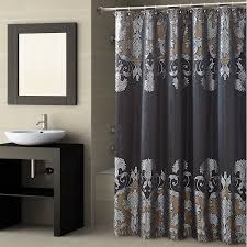 Bathroom Shower Curtains Ideas by Black And Gold Shower Curtain Set Black Gold Sparkle Shower